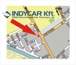 Indycar Kft.autójavítás, alkatrész értékesítés, autószerviz, centírozás, fényezés, gumiszerelés, karosszéria javítás, renault típusok gyorsszervize, szélvédőcsere