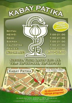 Kabay Gyógyszertárgyógyszertár