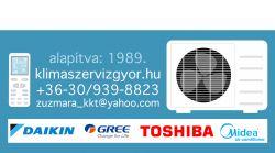 Magyar Zoltán-hűtő és klímaszervize (anno:1989)győri klímaszerelők, hűtőgépjavítás, hűtőgépszerviz, klíma, klíma győr, klímaszerelés